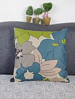 Creative Flowers Pillowcase Sofa Home Decor Cushion Cover (17*17 inch)