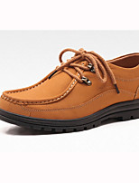 Men's Shoes Comfort Flat Heel Leather shoes More Colors Available