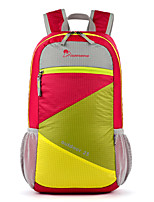 Mountaintop  colorful Hiking Climbing folding Backpack 25L