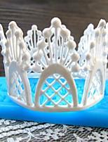 flor de renda ferramentas fondant bolo de chocolate em forma de silicone molde / decoração para cozinha