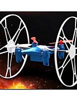 kf fx-5 drone 4 canales rc rueda de platillo volante seis ejes Gyro helicóptero modelo de ufo