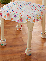 Boots More high-grade cotton cloth clip table and chair set foot Seven color eight pansy