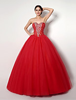 Princess Floor-length Wedding Dress -Sweetheart Tulle