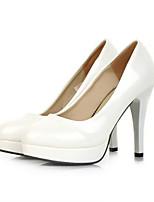 Women's Shoes  Stiletto Heel Basic Pump Pumps/Heels Office & Career/Dress/Casual Black/White/Beige/Khaki