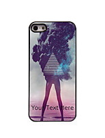 Personalized Gift The Girl Design Aluminum Hard Case for iPhone 5/5S