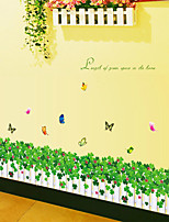 Wall Stickers Wall Decals,Clover Play Crural Line PVC Wall Stickers