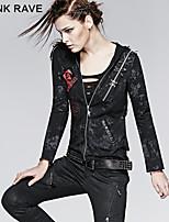 PUNK RAVE Y-235 Women's Vintage/Casual Medium Long Sleeve Regular Jackets