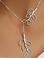 Classic Hollow Out Shape Silver Pendant Necklace