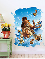 3D Wall Stickers Wall Decals, Ice Age Stickers