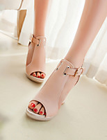 Women's Shoes Stiletto Heel Gladiator Sandals Office & Career/Dress Blue/Pink/White