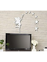 Fairy Stars DIY Mirror Wall Stickers Art Decals