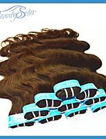 3Kg Wholesale Cheap Brazilian Hair Dark Brown Color Grade5A Body Wave 14