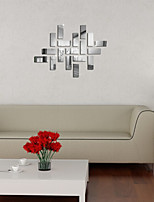 Mirror Wall Stickers Wall Decals, Geometry DIY Mirror Acrylic Wall Stickers