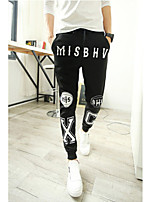 Men's Casual/Sport Print Sweatpants Pants