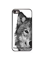 Personalized Gift The Wolf Design Aluminum Hard Case for iPhone 5/5S