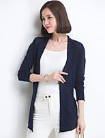 YINGYIYANG® Women's Korean Solid Color Openwork Sunscreen Jacquard Lightweight Long Cardigan Knitwear