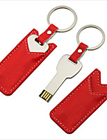 16GB Mini Metal Key Gift USB Flash Drive with Leather Case