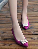 Women's Shoes  Kitten Heel Heels/Comfort/Pointed Toe/Closed Toe Pumps/Heels Dress/Casual Black/Red/Gray