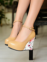 Women's Shoes Wedge Heel Round Toe Pumps Shoes More Colors available