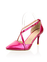 Women's Shoes Tulle/ Stiletto Heel Heels/Pointed Toe/Closed Toe Pumps/Heels Office & Career/Dress/Casual Multi-color