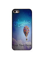 Personalized Gift Adventure is Out There Design Aluminum Hard Case for iPhone 5/5S