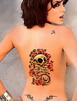 2015 New fashion Safe non-toxic waterproof 3D pattern tattoo stickers / one-time Large size Tattoo arm