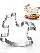 stampi giocattolo cavallo a dondolo frese forma biscotti frutta taglio del bambino in acciaio inox