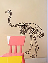 Wall Stickers Wall Decals, Modern Dinosaur skeleton PVC Wall Stickers