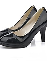 Women's Shoes OL Chunky Heel Pointed Toe Pumps Heels