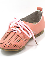Girls' Shoes Casual Closed Toe Faux Leather Flats Pink/White