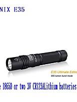 Lanternas LED ( Prova-de-Água ) - Para Campismo / Escursão / Espeleologismo - LED 3 Modo 360 Lumens 18650.0 Cree XM-L2 U2 Bateria Fenix