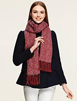 CSZM Women Dot Style Winter Scarf Tassel Rabbit Fur Wrap Warm Shawl Soft Thick Plain Color Bufanda French Euro Schal