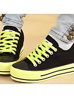 Zapatos de mujer Tela Tacón Plano Tacones/Comfort/Pump Básico/Punta Redonda Pumps/Tacones Casual/Deporte Negro/Azul