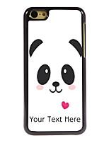 Personalized Gift Lovely Panda Design Aluminum Hard Case for iPhone 5C