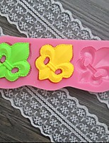 Flower Lace Shaped Fondant Cake Chocolate Silicone Mold/Decoration Tools For Kitchen Baking