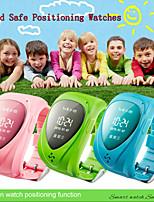 sos histoire de montre intelligente jm09 gps gsm les enfants + station de base de positionnement de mode double clôture électrique alarme