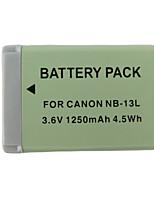 13L 1250mAh  Camera Battery for Canon PowerShot G7 X