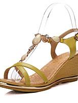 Women's Shoes  Wedge Heel Wedges Sandals Outdoor/Office & Career/Casual Multi-color