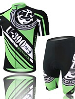 Warships Cycling Wear Short Sleeved Suit, Moisture Cycling Wear, Motor Function Material