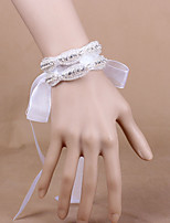 Satin Wedding/Party Elegant Rhinestone Flowers Wrist Corsages