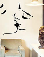 Wall Stickers Wall Decals, Kiss PVC Wall Stickers
