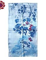 Women's Senior Silk Double Sided Long Scarf (Size:175cmX52cm)