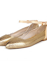 Girls' Shoes Casual Round Toe  Flats Silver/Gold