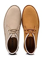 Men's Shoes Casual Oxfords Brown/Beige