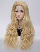 modèles d'explosion de la perruque de mode européenne et américaine de perruques de cheveux synthétiques de haute qualité