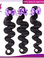 malaysische reine Haarkörperwelle 1 Bündel malaysische Haarverlängerung Körperwelle