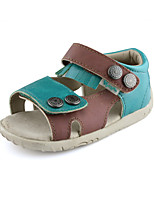 Open Toe Baby summer Shoes Outdoor/Casual Faux Leather Sandals Green