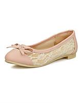 Girls' Shoes Casual Round Toe  Pumps/Heels Black/Pink/Beige
