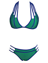 Women's Strappy Cut-out Halter Neck Bikini