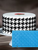Cake decorating mold 3D Cake Stencil Houndstooth Mould For Fondant Chocolate And Arts & Crafts